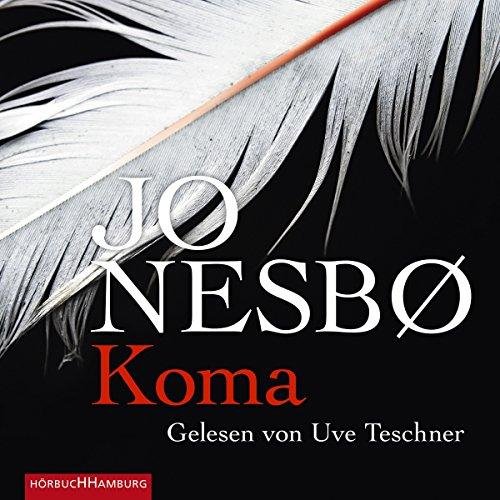 Koma     Harry Hole 10              Autor:                                                                                                                                 Jo Nesbø                               Sprecher:                                                                                                                                 Uve Teschner                      Spieldauer: 17 Std. und 43 Min.     2.512 Bewertungen     Gesamt 4,6