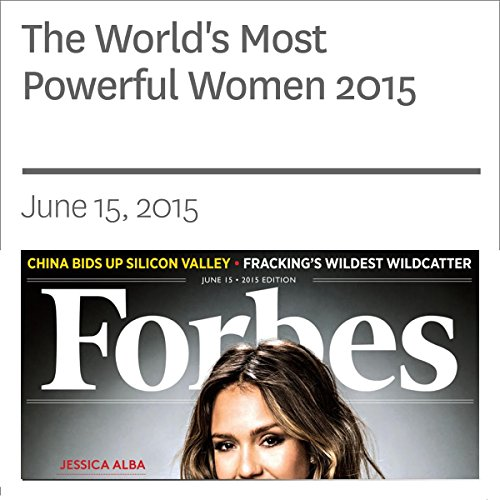 The World's Most Powerful Women 2015 audiobook cover art