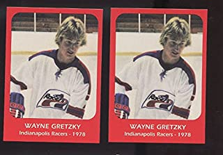 LOT 2 1978 Wayne Gretzky Indianapolis Racers Pre ROOKIE Hockey Card Collection