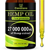 Best Hemp Oils - Hemp Oil Drops, 27 000 000 mg, Natural Review
