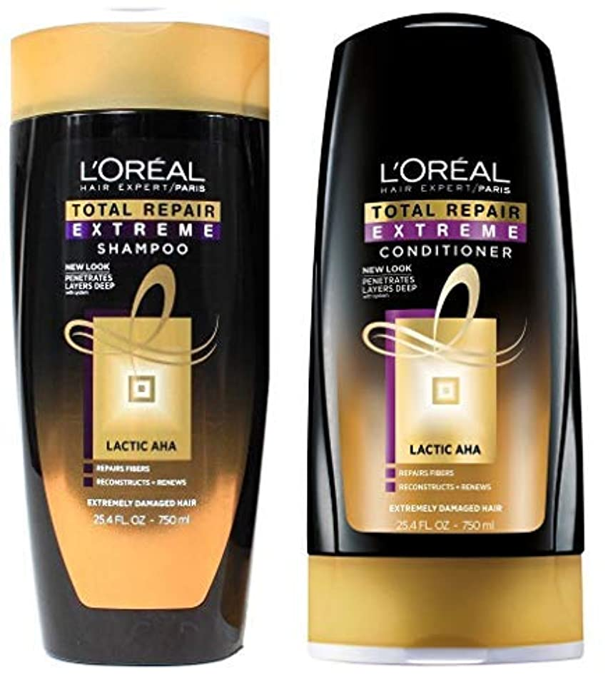 Total Repair Extreme Shampoo and Conditioner 25.4 Ounces Each - Packaging May Vary