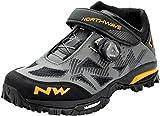 Northwave Enduro Mid MTB 2021 - Zapatillas de ciclismo, color gris y amarillo, Hombre, 80164041, antracita, 38 EU