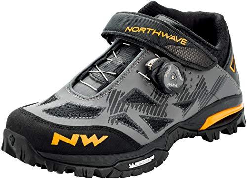 Northwave Enduro Mid MTB Fahrrad Schuhe grau/gelb 2021: Größe: 38