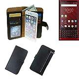 K-S-Trade Wallet Case Protective Pocket For Blackberry KEY2