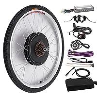 """48V 1000W 26 ''電子自転車変換キットブラシレスモーターハブコントロールE-自転車ホイールスピードコントローラー (Color : 20"""", Size : Front wheel)"""