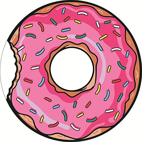 XYFL 150 cm grote ronde donut microvezel strand vakantie bad lichtgewicht handdoek camping Gym sport handdoek A