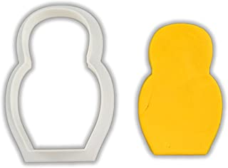 Russian Nesting Doll Cookie Cutter - LARGE - 4 Inches