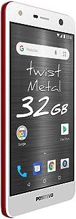 Smartphone Desbloqueado Twist Metal 32GB, Positivo, 3900646, 16GB, 5.2, Vermelho