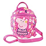 Peppa Pig <span class='highlight'>Backpack</span> with <span class='highlight'>Reins</span> – Toddler Baby Kids Girls <span class='highlight'>Backpack</span> with detachable safety <span class='highlight'>reins</span> for parental control