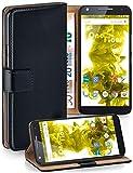MoEx Étui Folio à Support vidéo Compatible avec Motorola Moto X Force | Fente pour Argent/Cartes,...