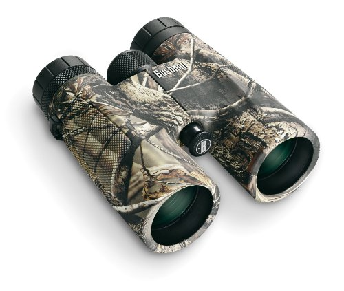 Bushnell PowerView 10x42 Roof Prism Binocular (Realtree AP Camo)