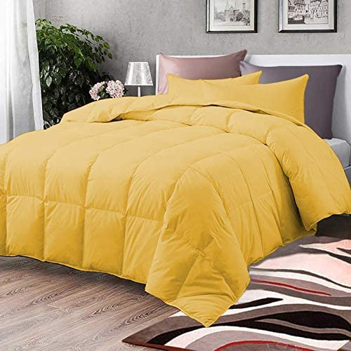 Comforter - All Season Ranking TOP6 Down Yellow Alternative Quilted Rapid rise