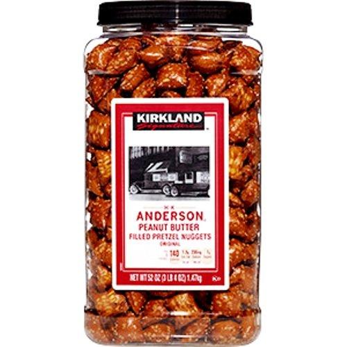 KIRKLAND SIGNATURE Peanut Filled Pretzel Butter 52 Ounce