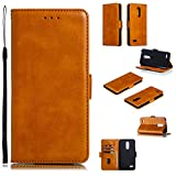NEXCURIO Wallet Case for LG K11 / K10 (2018) with Card