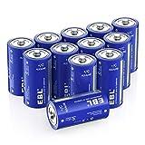 Best C Batteries - EBL C Batteries - Long Lasting Performance Alkaline Review