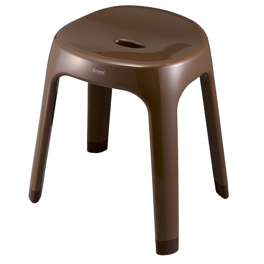 マンモスこれまでトピックぼん家具 日本製 抗菌仕様 バスチェア 風呂椅子 浴室 バスグッズ 抗菌 防カビ お風呂の椅子 〔高さ35cm〕 ブラウン