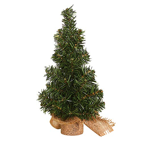 Petalum Künstlich Weihnachtsbaum Tannenbaum Christbaum Mini Klein Weihnachtsbaum Deko Kunstbaum Weihnachten Tisch Fenster deko Geschenke