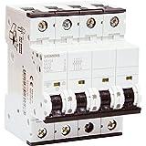 Siemens - Interruptor automático 4 polos 20A