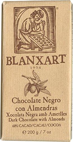 Blanxart Dunkle Schokolade mit Mandeln 200 g