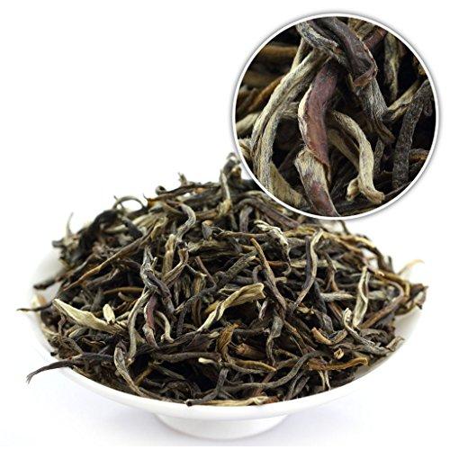 GOARTEA 100g (3.5 Oz) Premium Organic FuJian Jasmine Silver Buds Loose Mo Li Yin Hao Chinese GREEN TEA