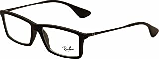 Ray-Ban RX7021-5364 Eyeglasses, Black, 55 mm