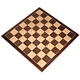 Apollo Extra Thick Tournament Chess Board with Inlaid Walnut...