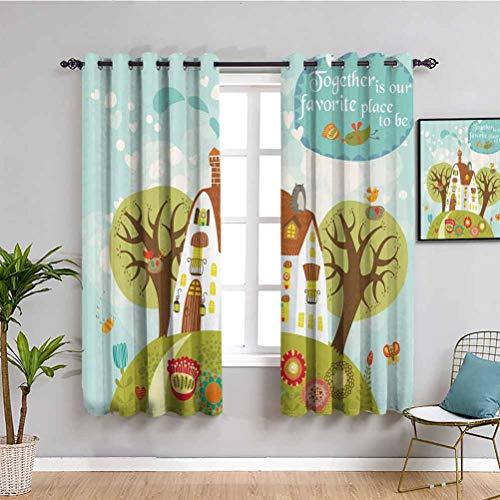 Paneles de cortina para dormitorio, uso diario, color verde oliva, turquesa, marrón, blanco, rojo, blanco, blanco, blanco, rojo,