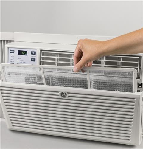 GE AEM08LX [Fits Windows: 24' to 38' W x 13-1/2' H MIN.] Window Air...