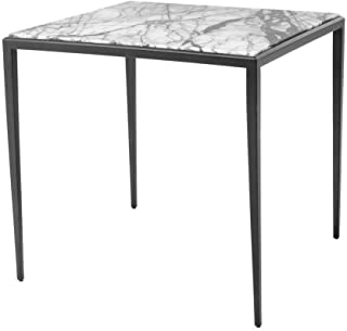 Side Table | EICHHOLTZ Henley | Classic Contemporary Marble Cocktail Living Room Furniture | Modern Luxury Furniture