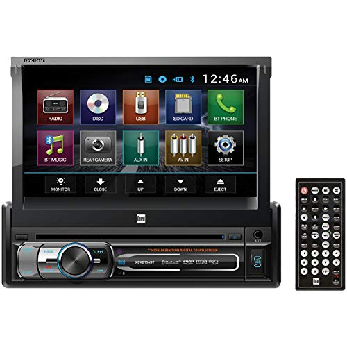Dual Electronics XDVD156BT LCD Single DIN Car Stereo Receiver