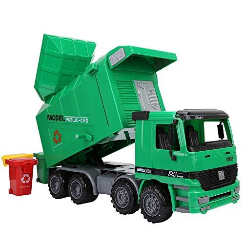 ごみ収集車、慣性ごみ収集車プラスチックは子供のための子供のための滑り止めを自動的に上昇させます