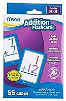[ミード]Mead Addition Flashcards, 55 Cards, Grades K3 63034 [並行輸入品]