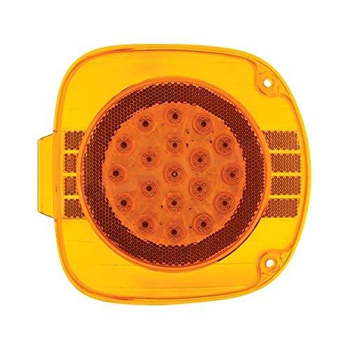 United Pacific 22 Amber Led Freightliner Front Turn Signal Light - Amber Lens