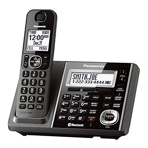 Panasonic KX-TGF370M Link2Cell-Bluetooth Cordless Phones w Answering Machine (Renewed)