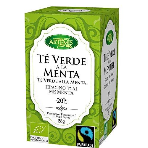 ArtemísBio Té Verde con Menta - 20 Infusiones