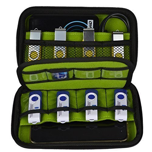 Estarer Aufbewahrungs Tasche Case Organizer für USB Sticks SD Speicherkarte