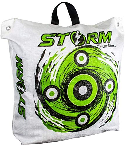 HURRICANE Storm II Expanding Bag Archery Target with Off-Set Aiming Points - Two Sizes