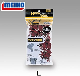 メイホウ(MEIHO) VERSUS VS-53 Lサイズ ランカーパック 58ヶ入 レッド