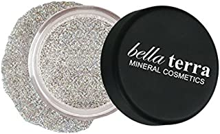 Mineral Glitter Eyeshadow Makeup Powder â Metallic Cosmetic Highlighter for Face & Nails â Pigment Dust - Natural Makeup (Crystal Ball)
