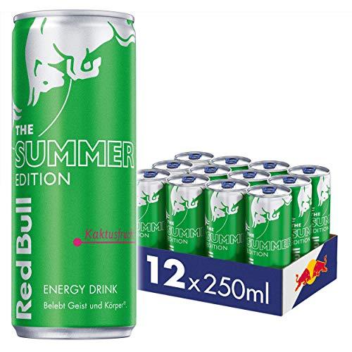 Red Bull Energy Drink Summer Edition Kaktusfrucht 250 ml (12 Dosen) EINWEG