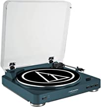 Audio-Technica AT-LP60 Fully Automatic Belt-Drive Stereo Turntable, Navy