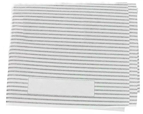 2 x filtres hotte avec indicateur de saturation graisse-coupées à dimension 47 x 57 cm