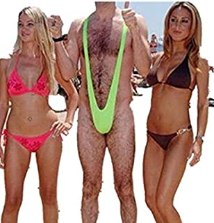 Generic Sexy Borat Mankini Costume Swimsuit Mens Swimwear Thong one size fits for all