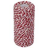 Drawihi Bastelschnur Jute Seil Gartenschnur Hanf Seil Cotton Thread für