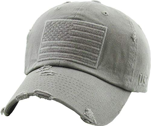 KBVT-209 LGY Tactical Operator with USA Flag Patch US Army Military Baseball Cap Adjustable