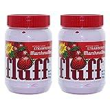 Fluff Strawberry Marshmallow pane aufstrich, Set di, aufstrich, schiuma zucchero, Fragola, 213G, 42671