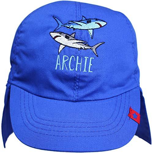 Sun Swim /& Surf Summer Beach Hat TeddyTs Boys Sharks