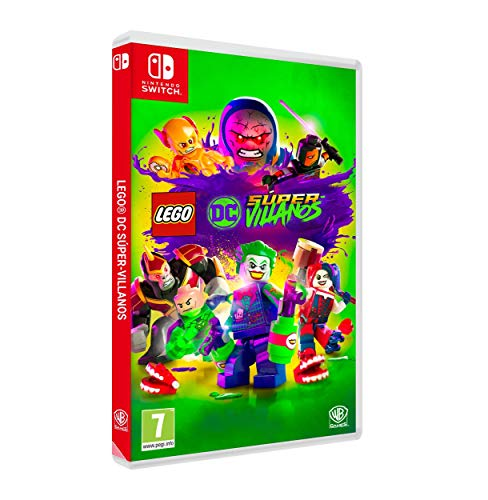 Lego DC Super-Villanos Nintendo Switch, Edición Exclusiva Amazon