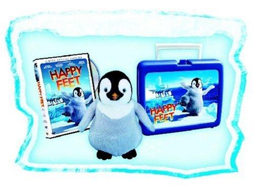 Happy Feet (2 DVDs, Sonderedition in der Lunch-Box mit Mumble Plüschtier)