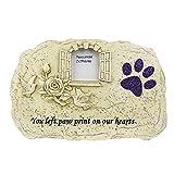 Jnzr Perro Gato o Memorial de Piedra o jardín Tumba Marcos; Simpatía Reflexivo Mascotas Regalo para Perder Estimado Amigo canino o felino.